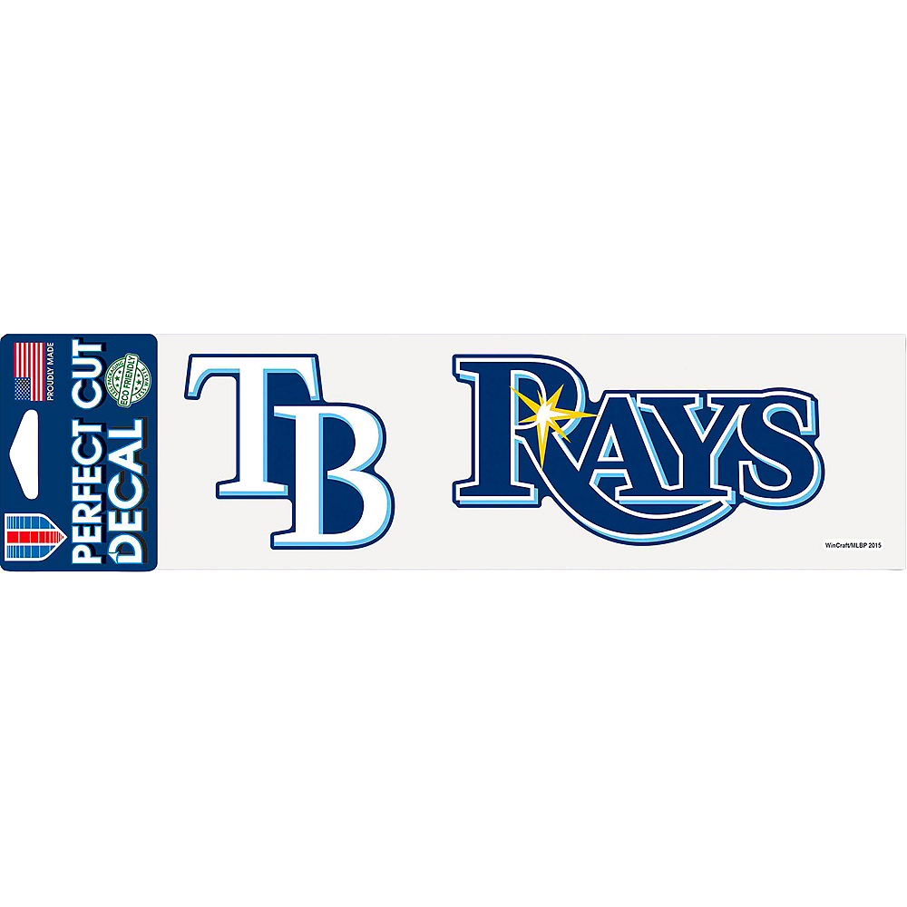 Tamp Bay Rays Decal Image #1