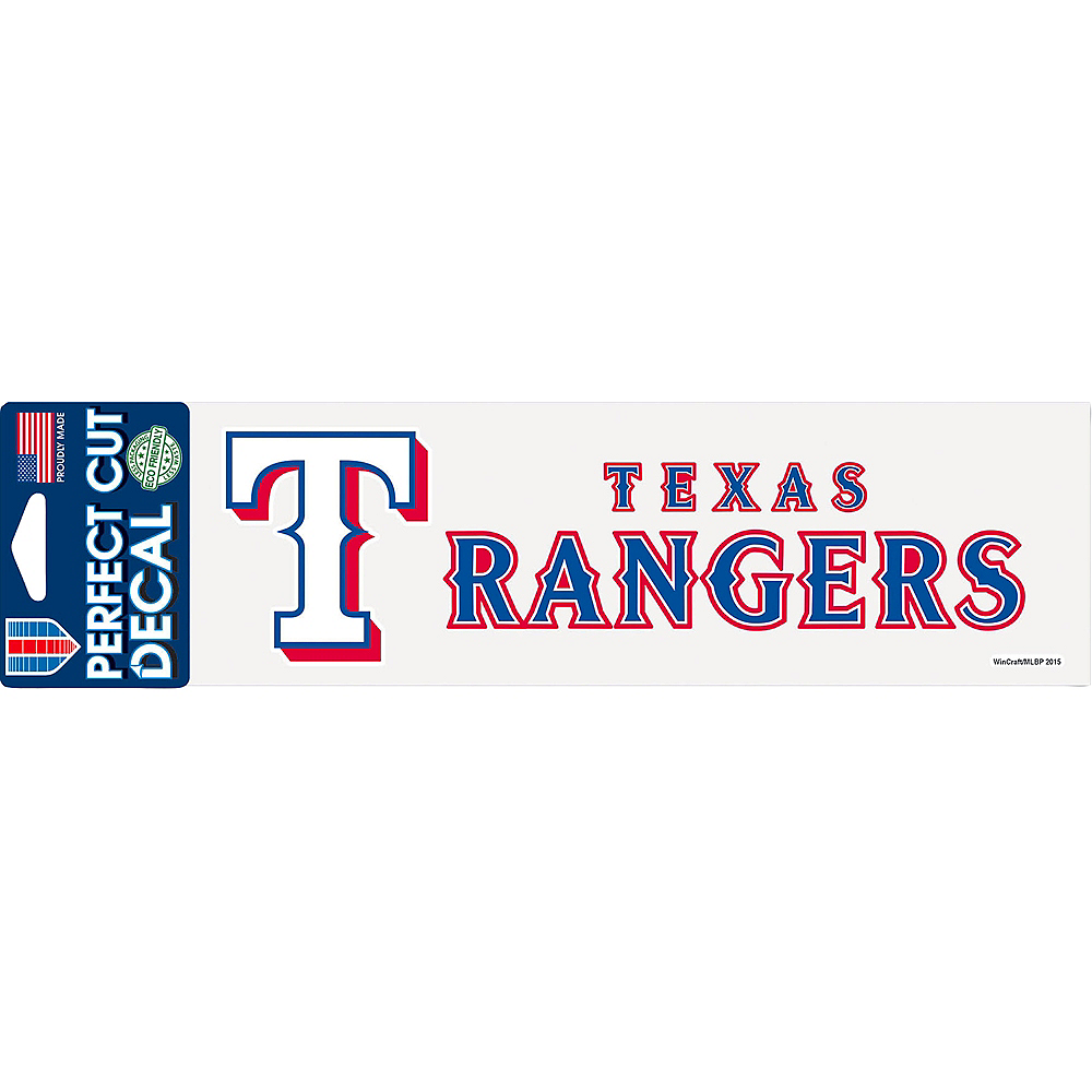 Texas Rangers Decal Image #1