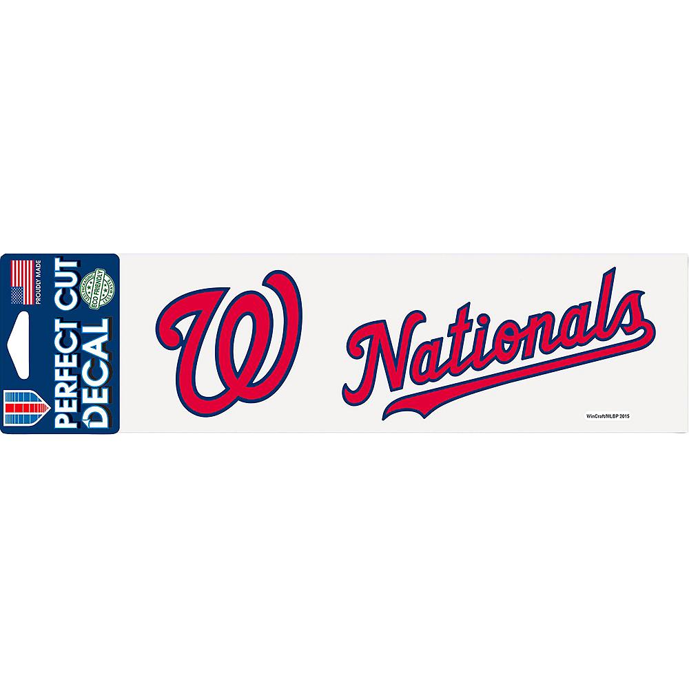 Washington Nationals Decal Image #1