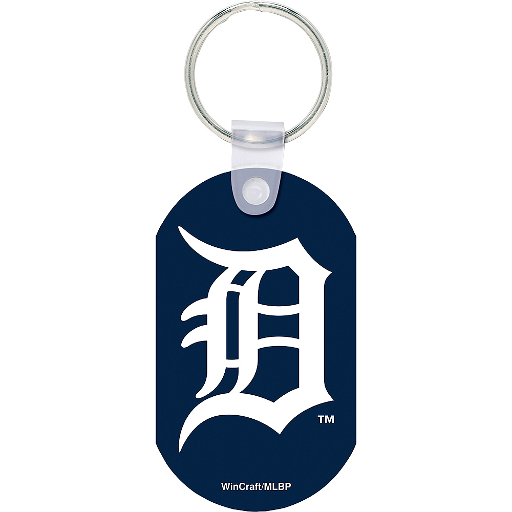 Nav Item for Detroit Tigers Keychain Image #1