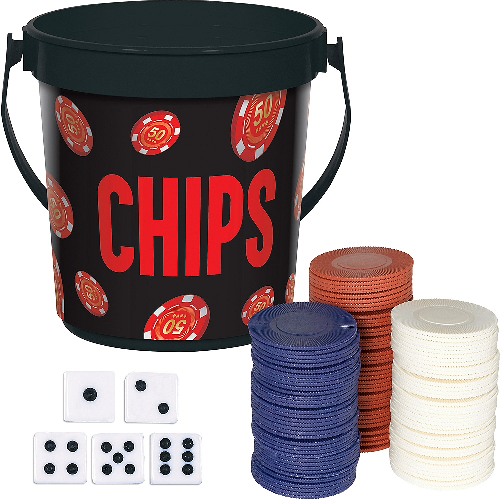 Roll the Dice Casino Poker Kit Image #1