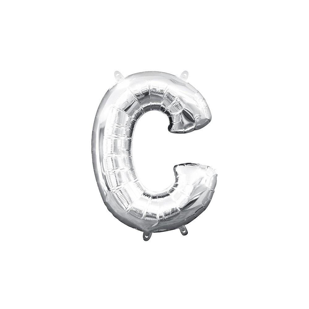Air-Filled Silver Shake Your Shamrocks! Letter Balloon Kit Image #3