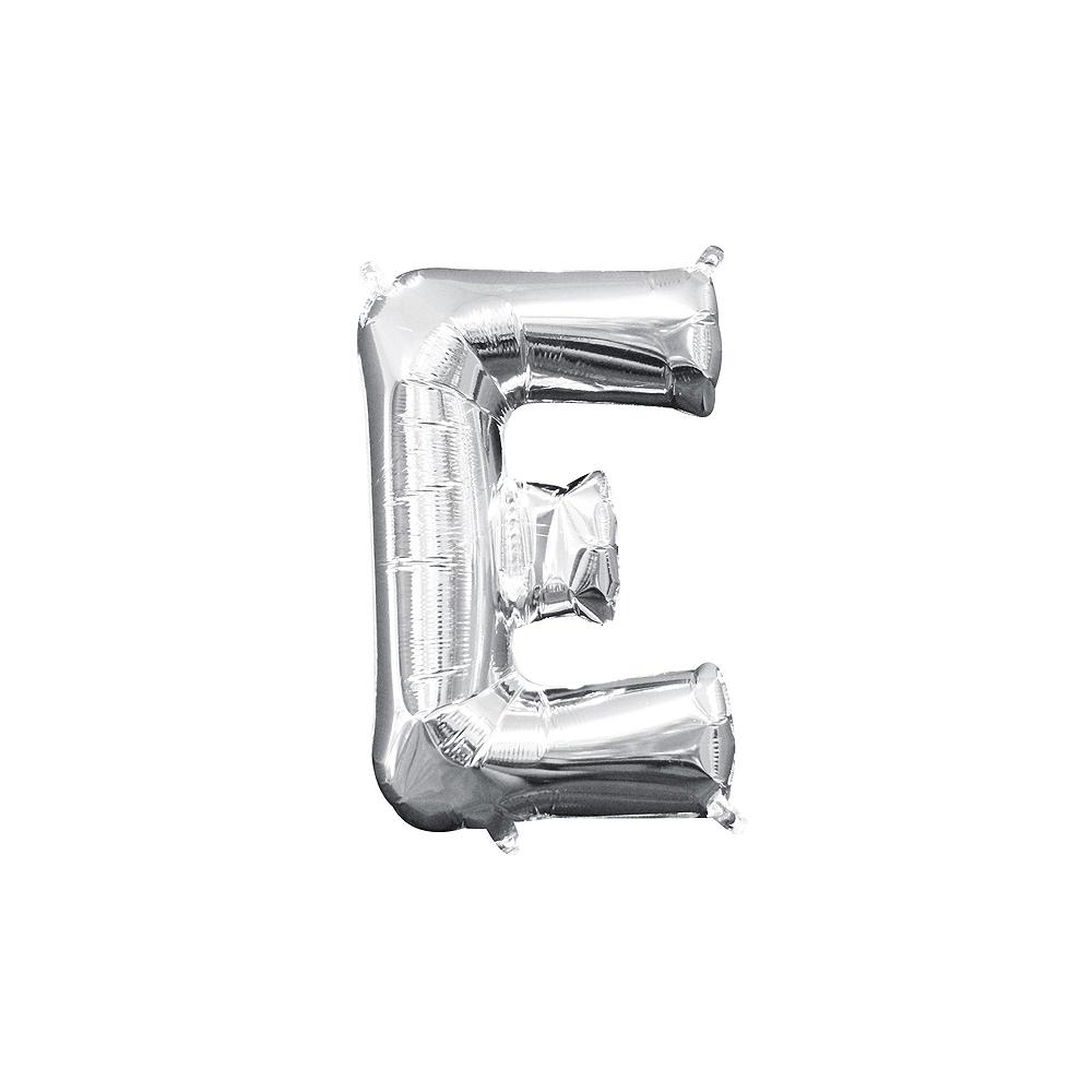 Air-Filled Silver Shake Your Shamrocks! Letter Balloon Kit Image #4
