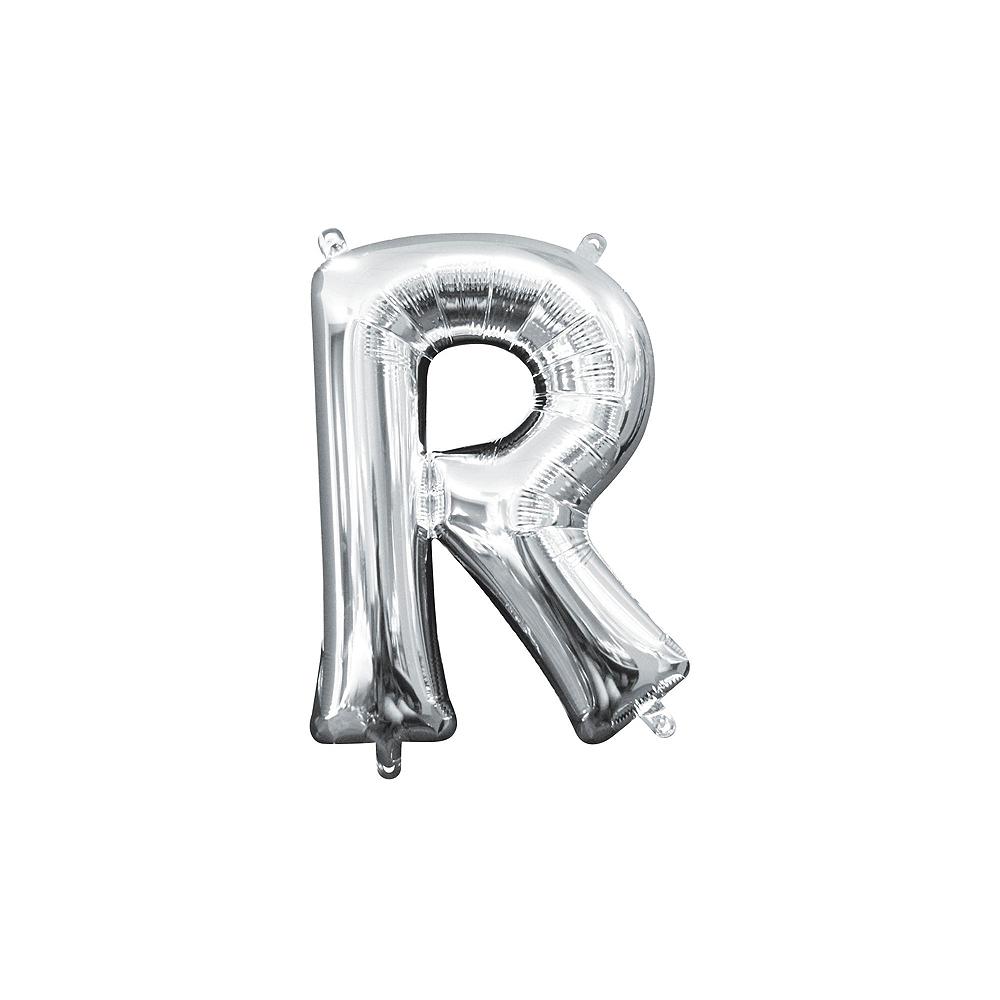 Air-Filled Silver Shake Your Shamrocks! Letter Balloon Kit Image #9