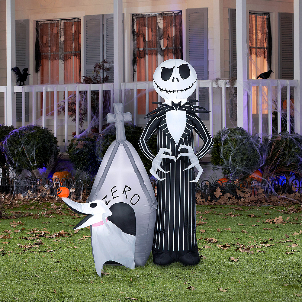 Light Up Jack Skellington Zero Inflatable The Nightmare Before Christmas