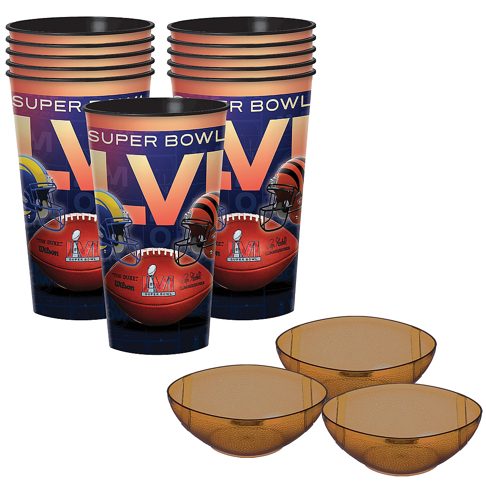 Exclusive Super Bowl 53 Cup & Dip Bowl Kit for 10 Guests Image #1