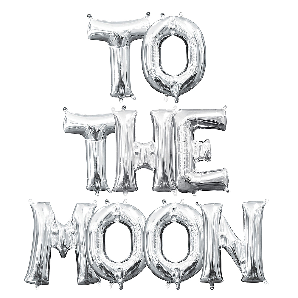 To The Moon Balloon Kit Image #1