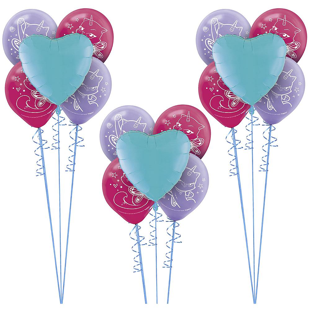 Rainbow Butterfly Unicorn Kitty Balloon Kit Image #1