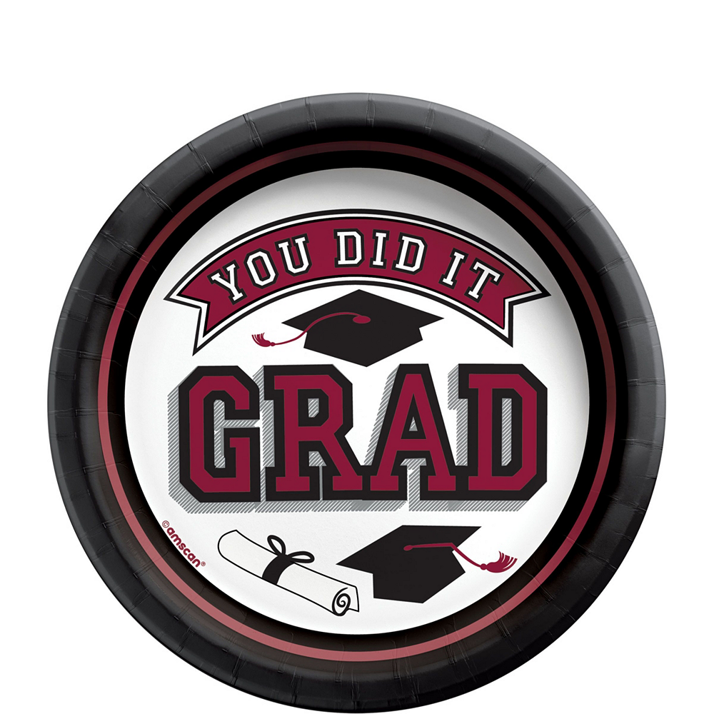 Ultimate Berry Congrats Grad Graduation Party Kit for 100 Guests Image #5