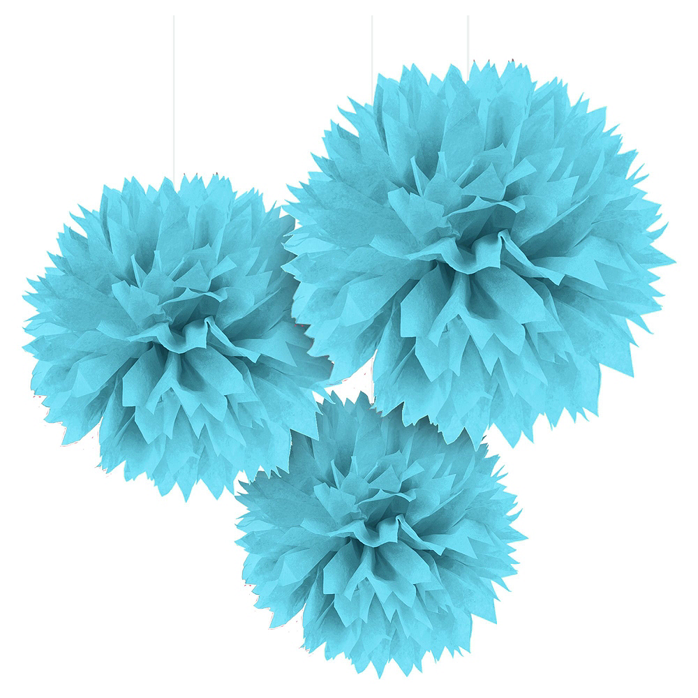Powder Blue Congrats Grad Graduation Basic Decorating Kit Image #3