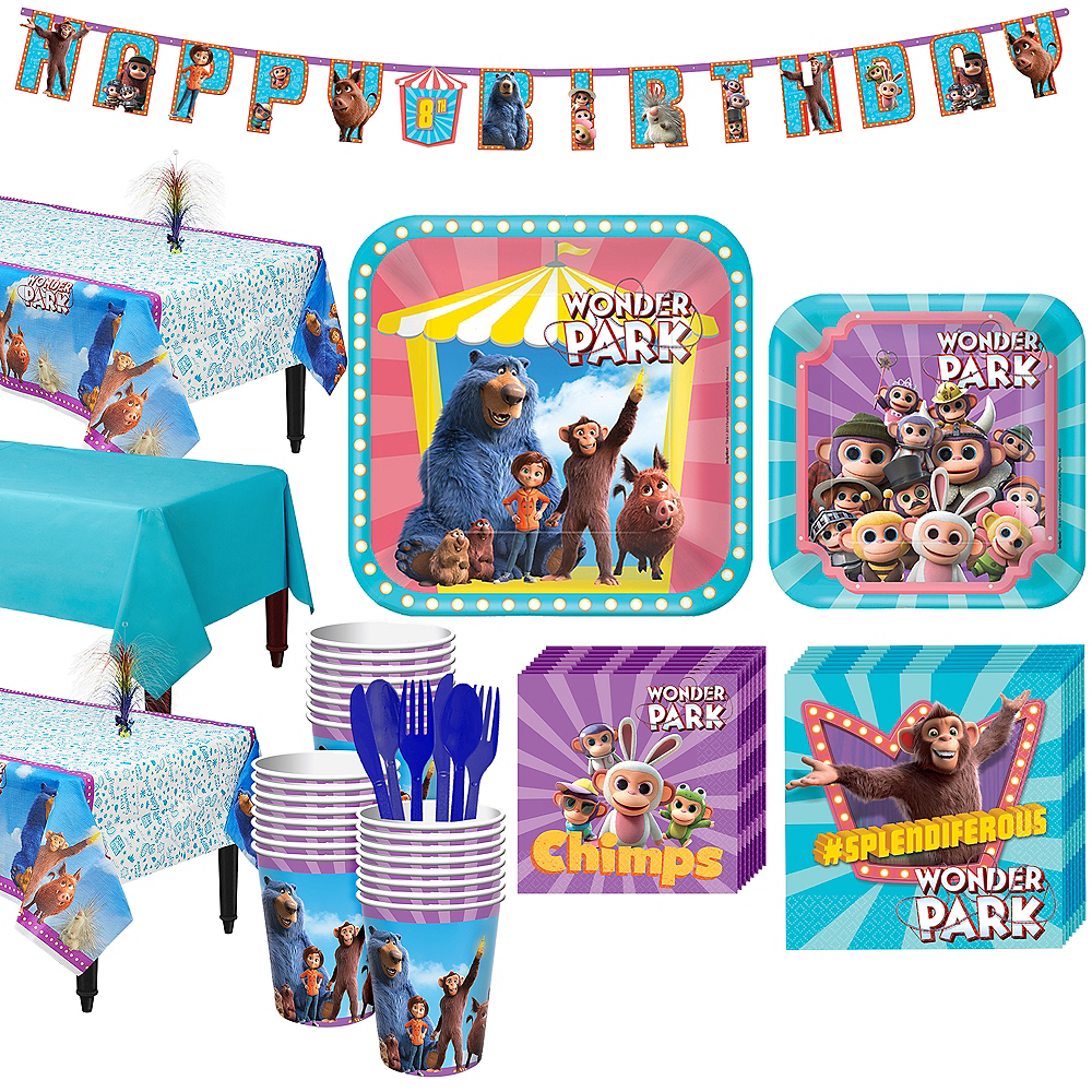 Wonder Park Tableware Kit for 24 Guests Image #1