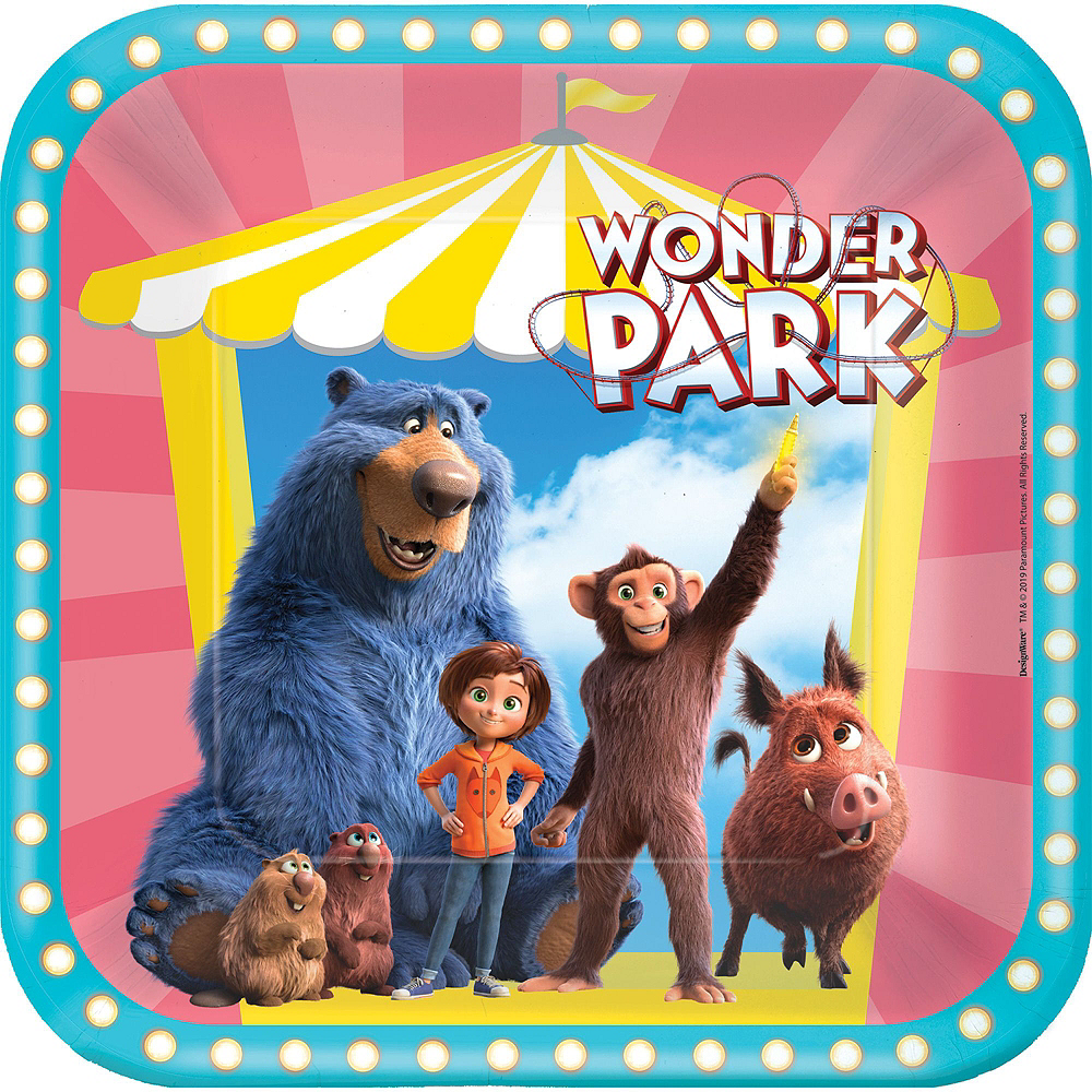 Wonder Park Tableware Kit for 24 Guests Image #3