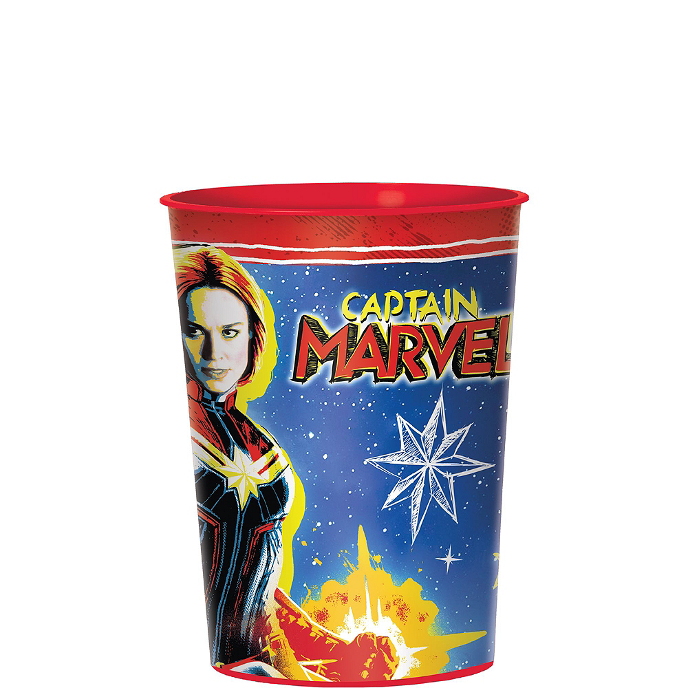 Captain Marvel Tableware Kit for 8 Guests Image #3