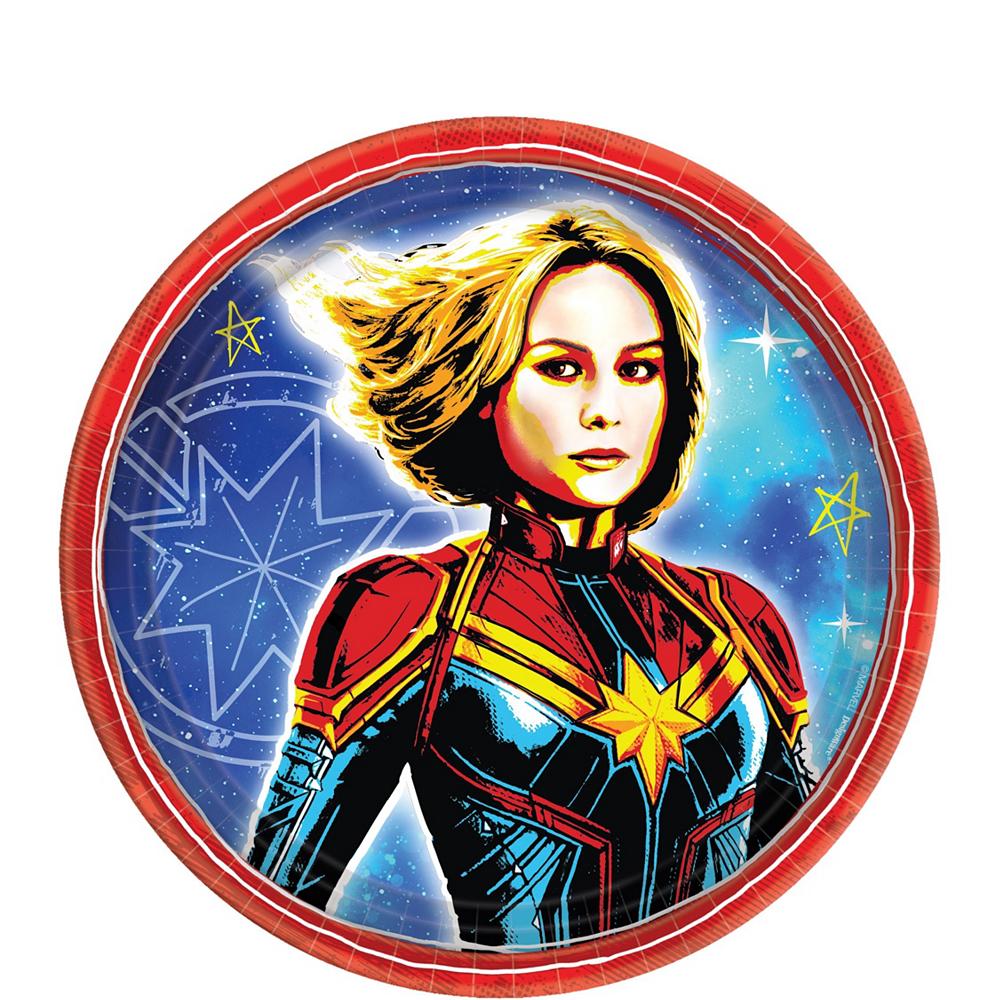 Amscan 16ct Captain Marvel Luncheon Napkins