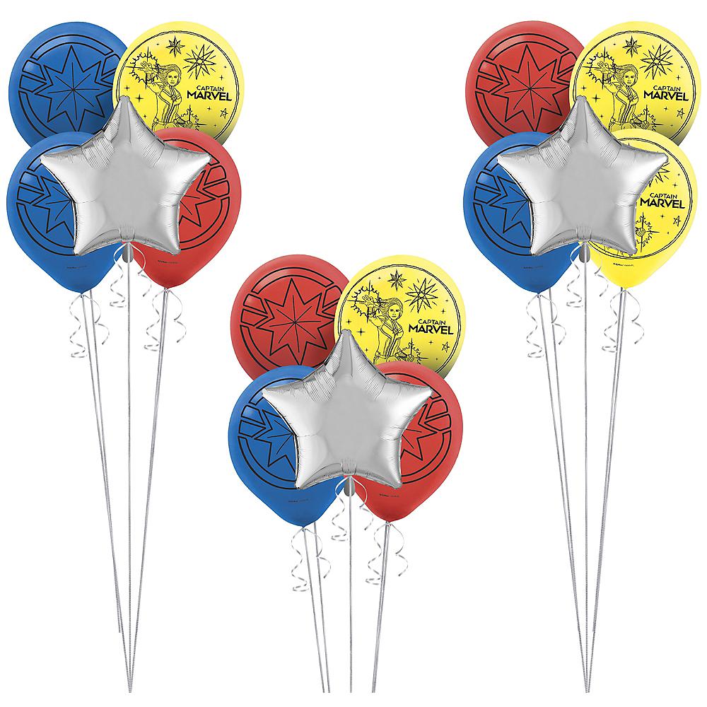 Captain Marvel Balloon Kit Image #1
