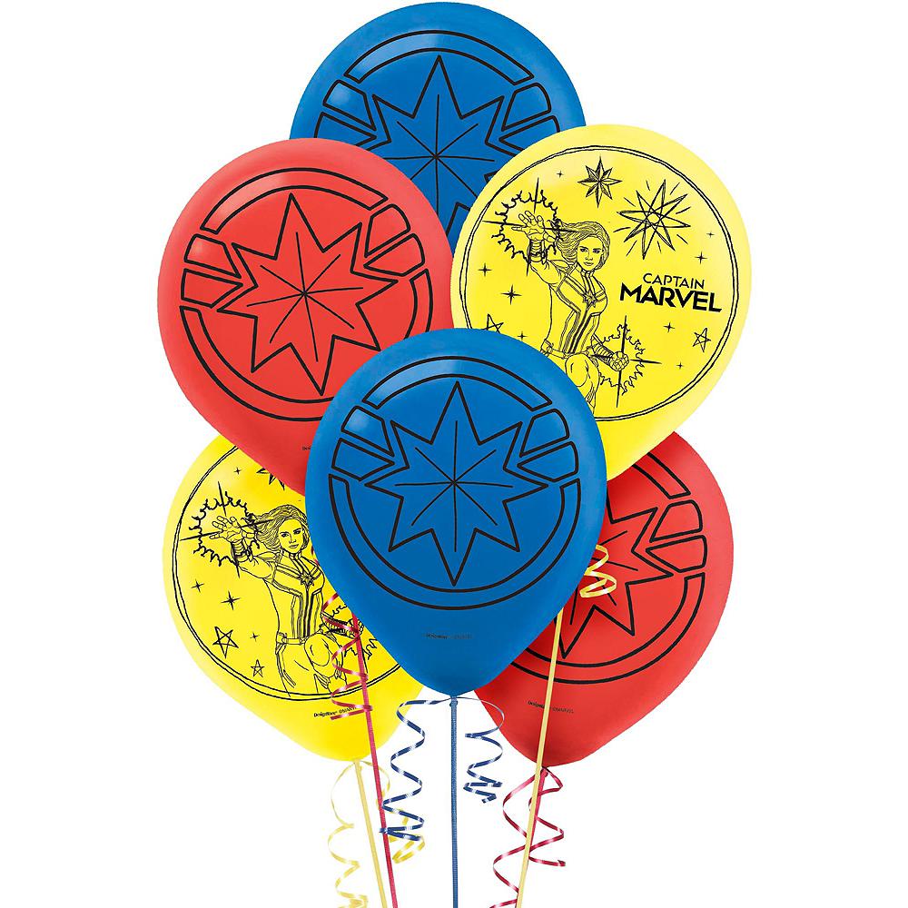 Captain Marvel Balloon Kit Image #2