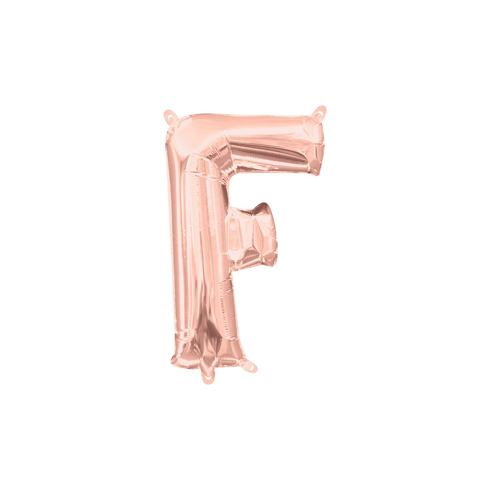 Air-Filled Rose Gold Class of 2019 Letter Balloon Kit Image #4
