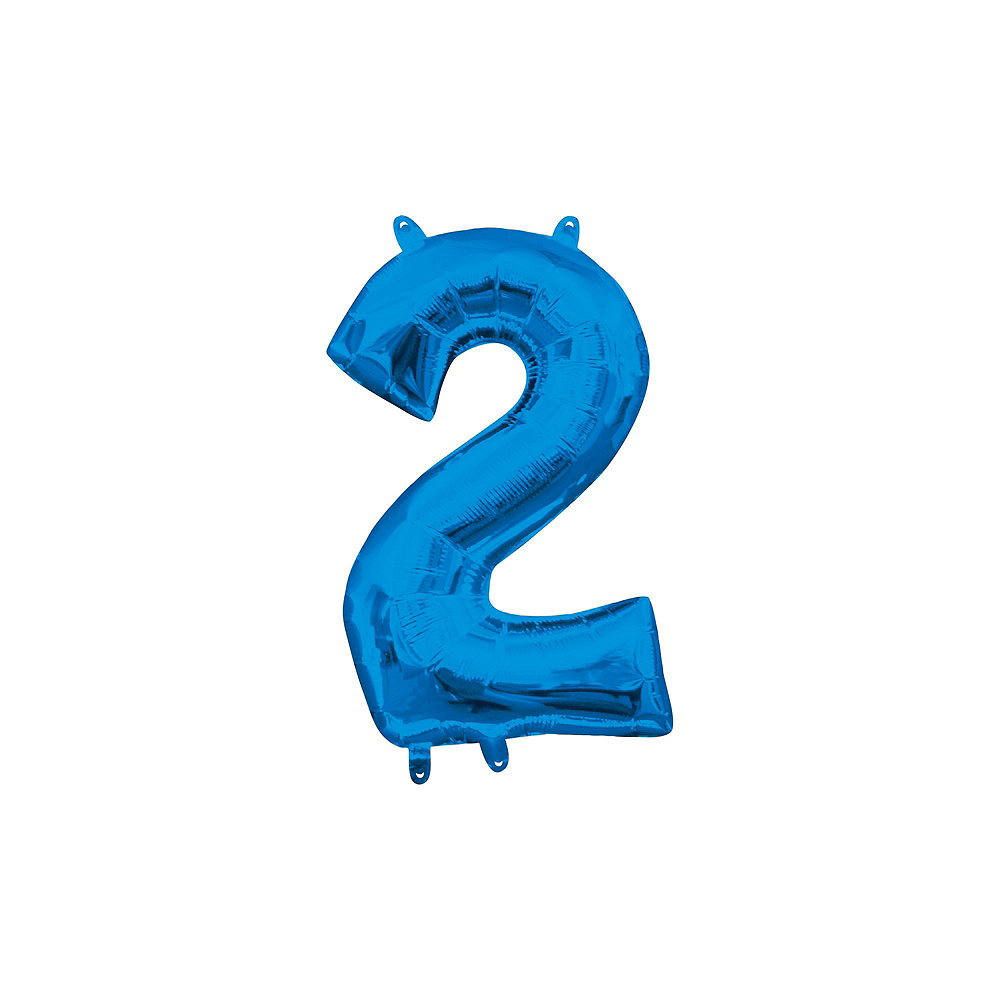 Air-Filled Blue Class of 2019 Letter Balloon Kit Image #9