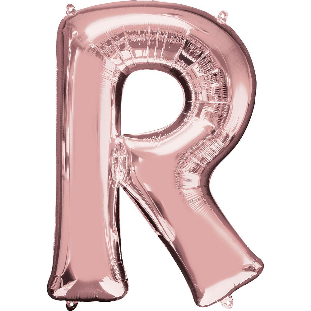 Giant Rose Gold Grad Letter Balloon Kit Image #6