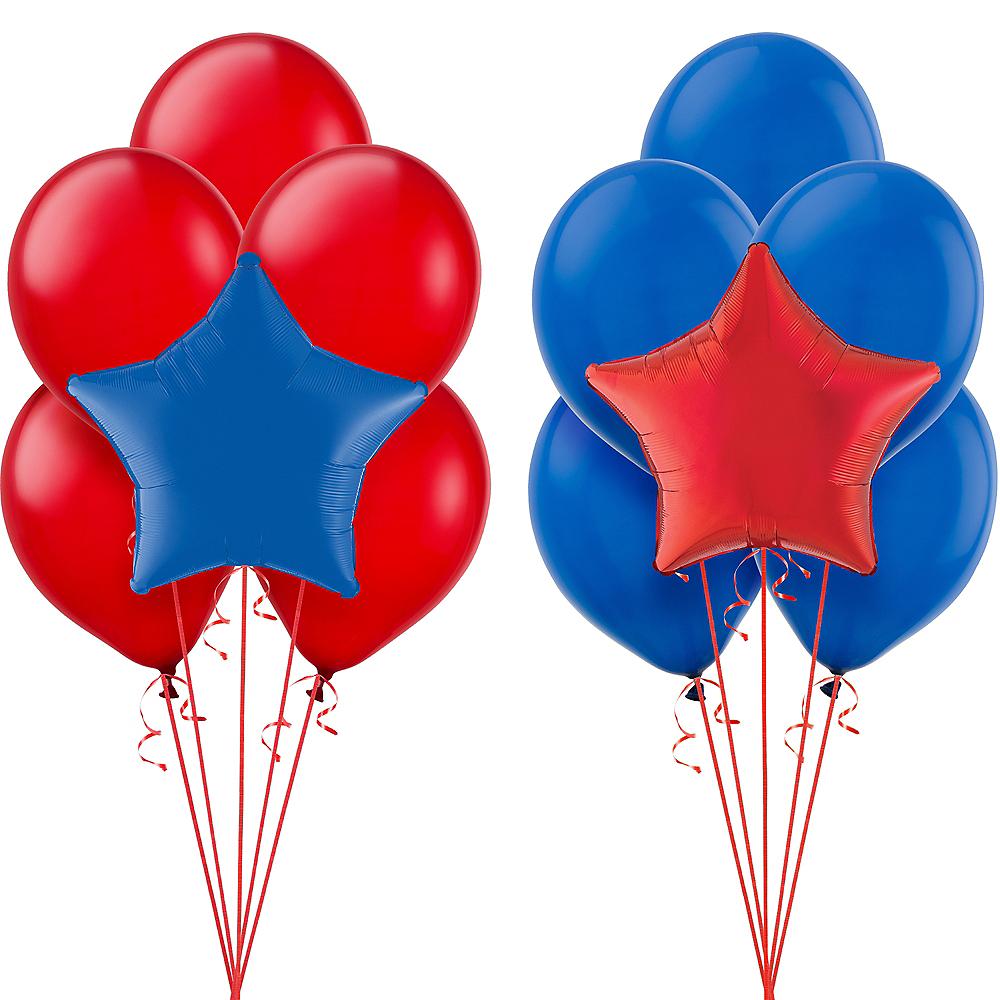 Blue & Red Balloon Kit Image #1