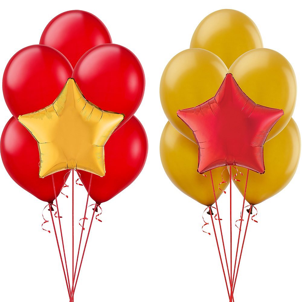 Graduation RED PHOTO BALLOON Custom Printed Party Supplies FREE SHIPPING