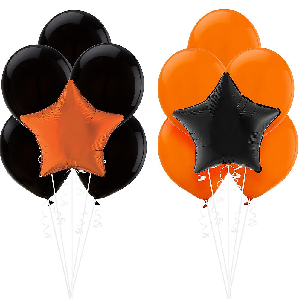 Black & Orange Balloon Kit Image #1