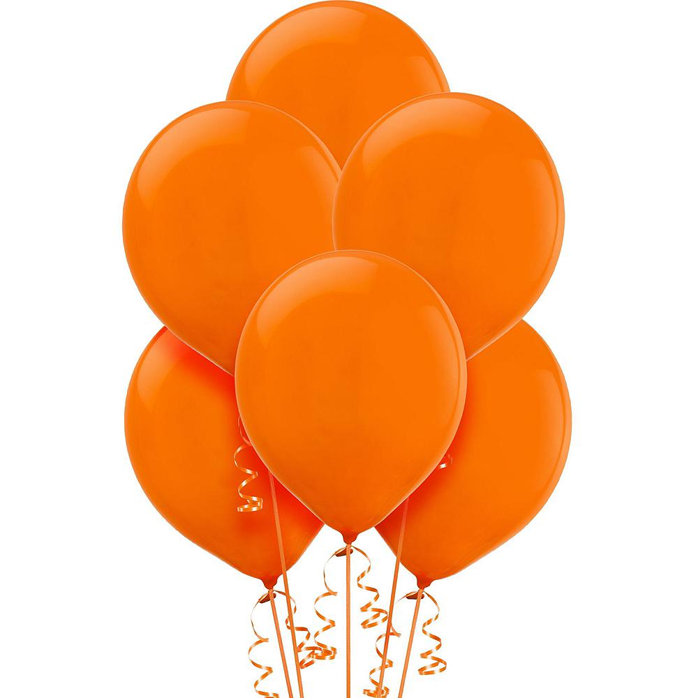 Black & Orange Balloon Kit Image #4