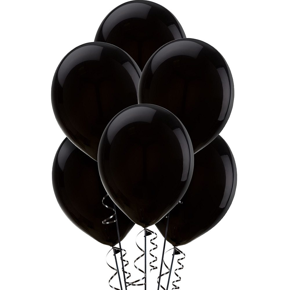 Black & Silver Balloon Kit Image #3