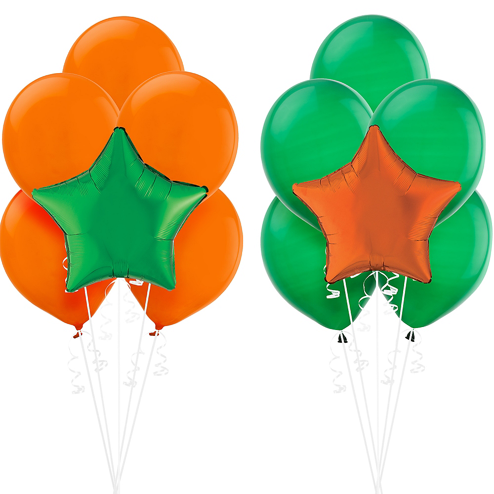 Orange & Green Balloon Kit Image #1