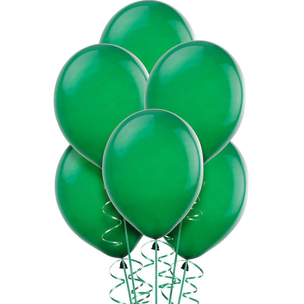 Green & White Balloon Kit Image #4