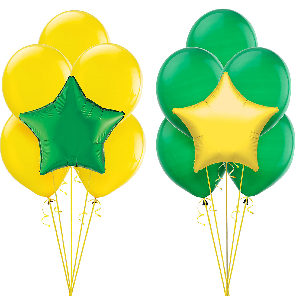Green & Yellow Balloon Kit Image #1