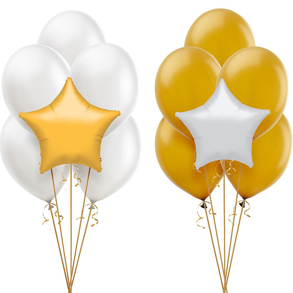 Gold & White Balloon Kit Image #1