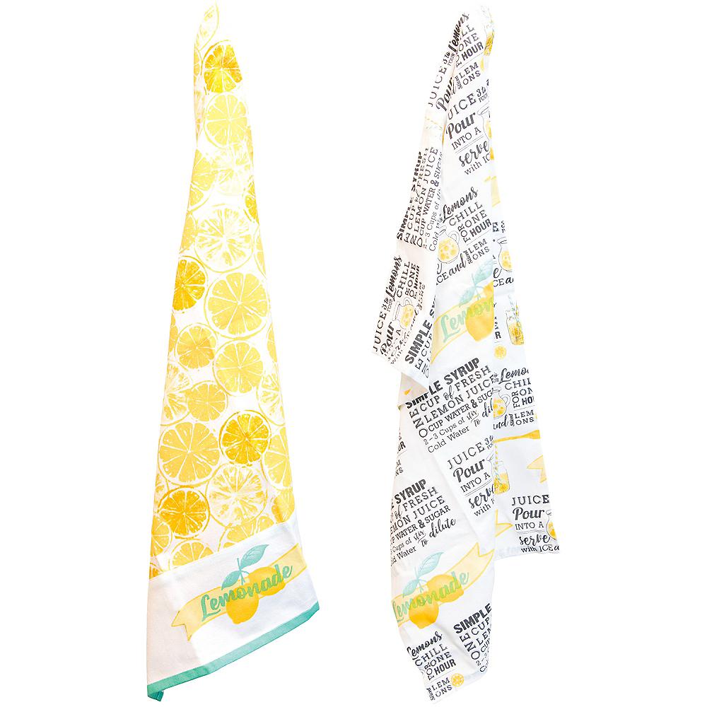 Lemonade Tea Towels 2ct Image #1