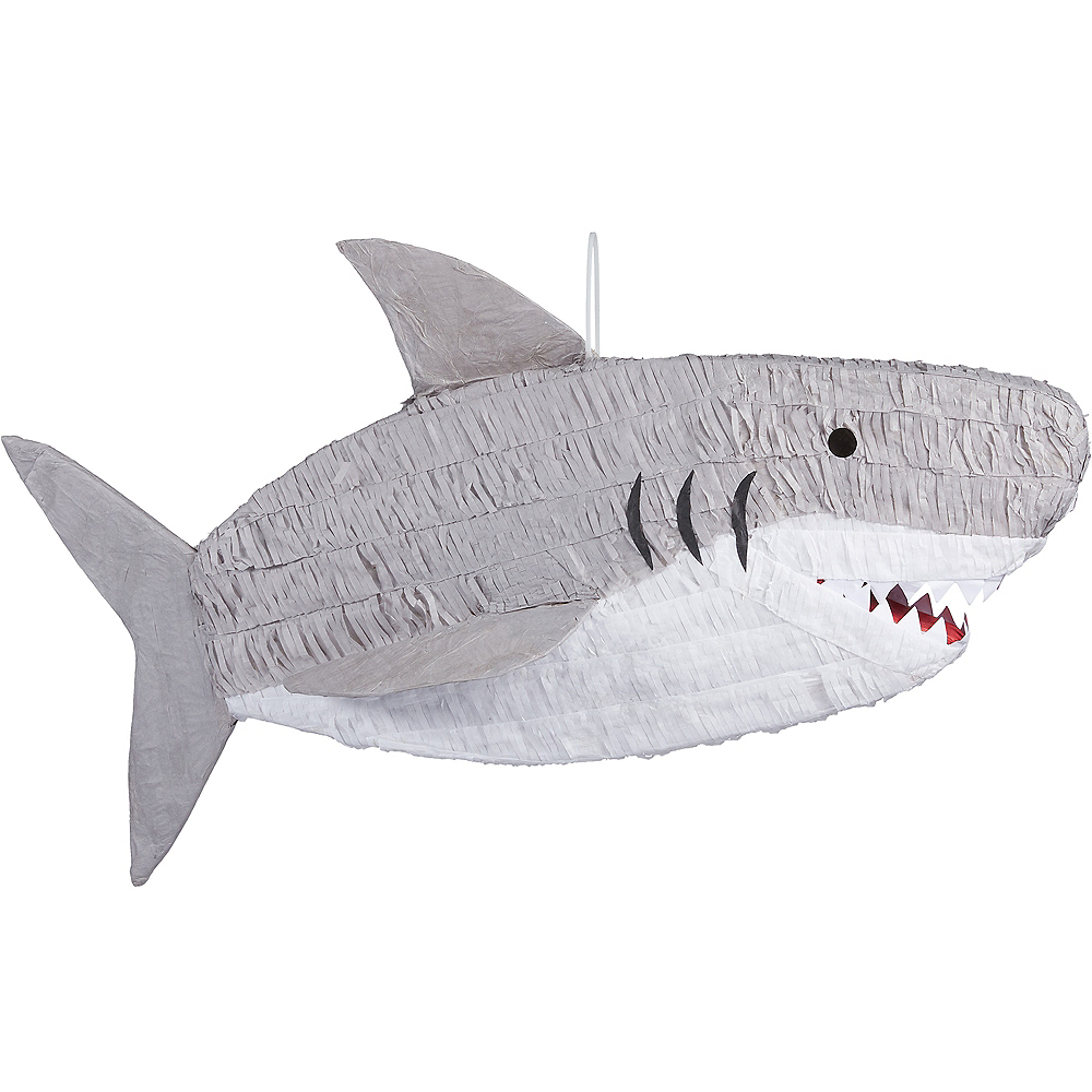 Nav Item for Gray Shark Pinata Image #1