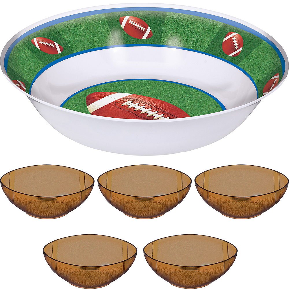 Football Chips & Dip Kit Image #1