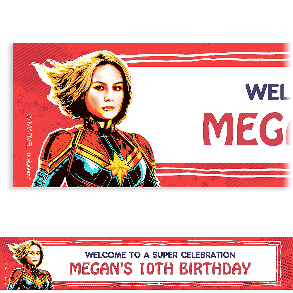 Custom Captain Marvel Banner Image #1