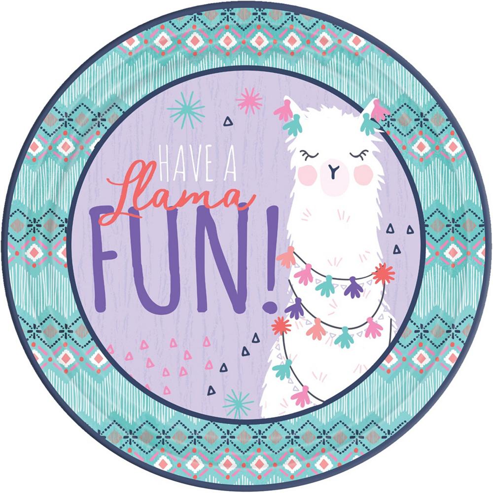 Llama Fun Tableware Kit for 8 Guests Image #3