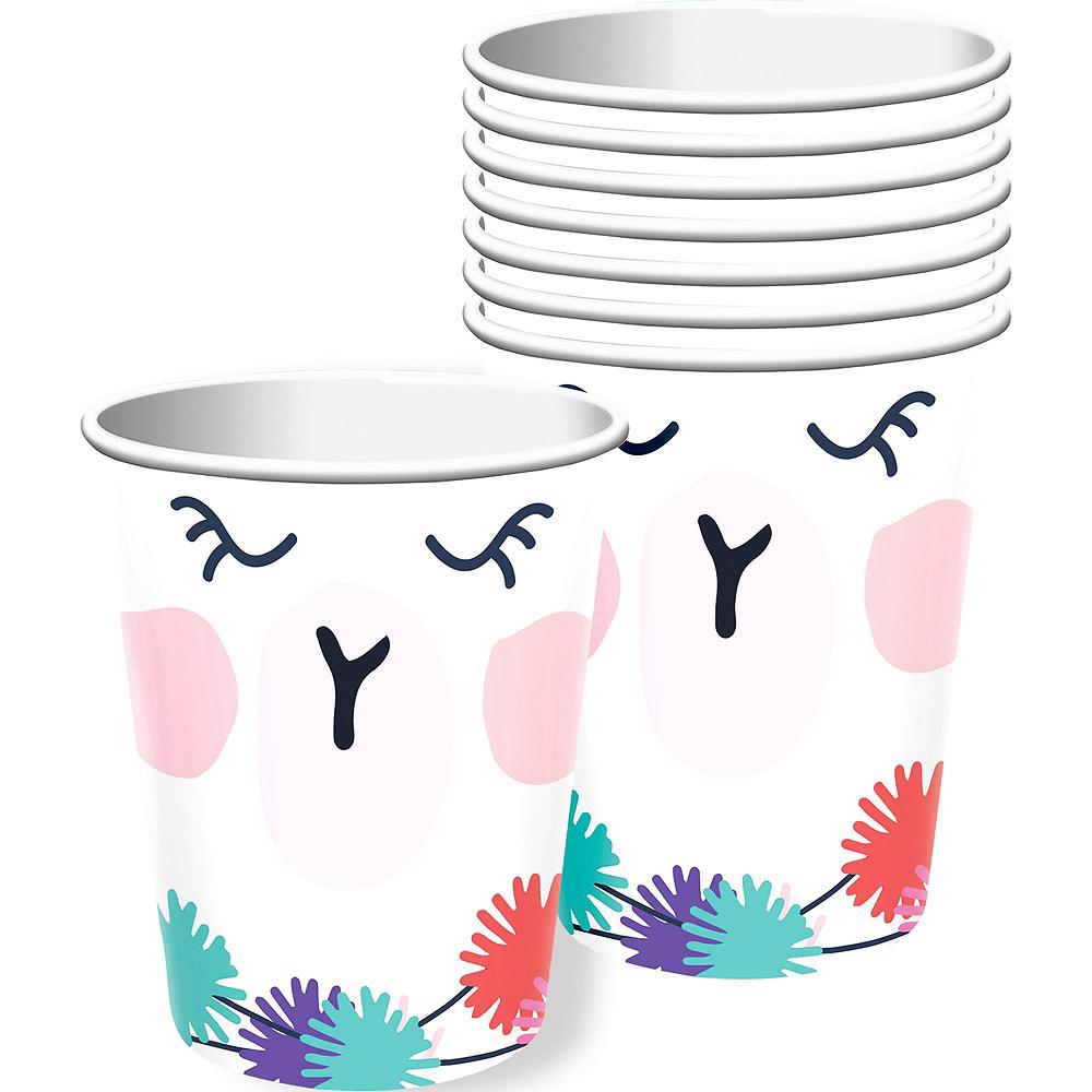 Llama Fun Tableware Kit for 8 Guests Image #6