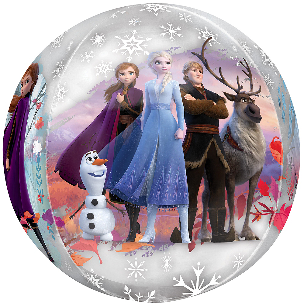Frozen 2 Balloon - See Thru Orbz Image #1