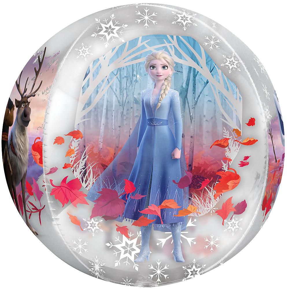 Frozen 2 Balloon - See Thru Orbz Image #2