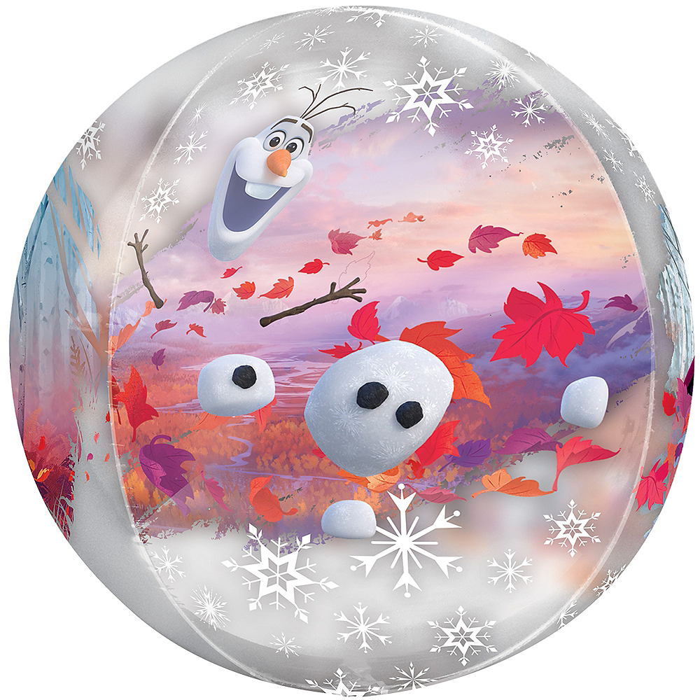Frozen 2 Balloon - See Thru Orbz Image #3
