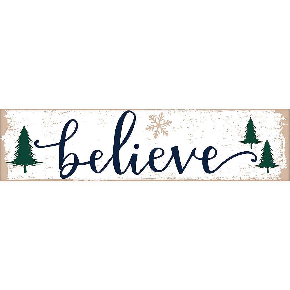 Mini Winter Believe Sign Image #1