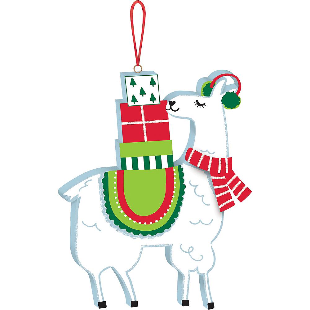 Mini Llama Ornament Image #1