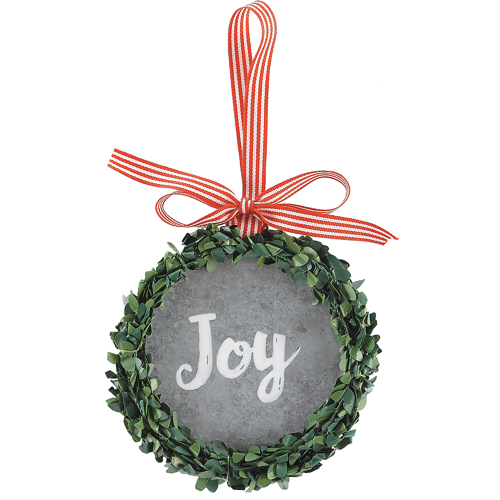 Joy Wreath Ornament Image #1