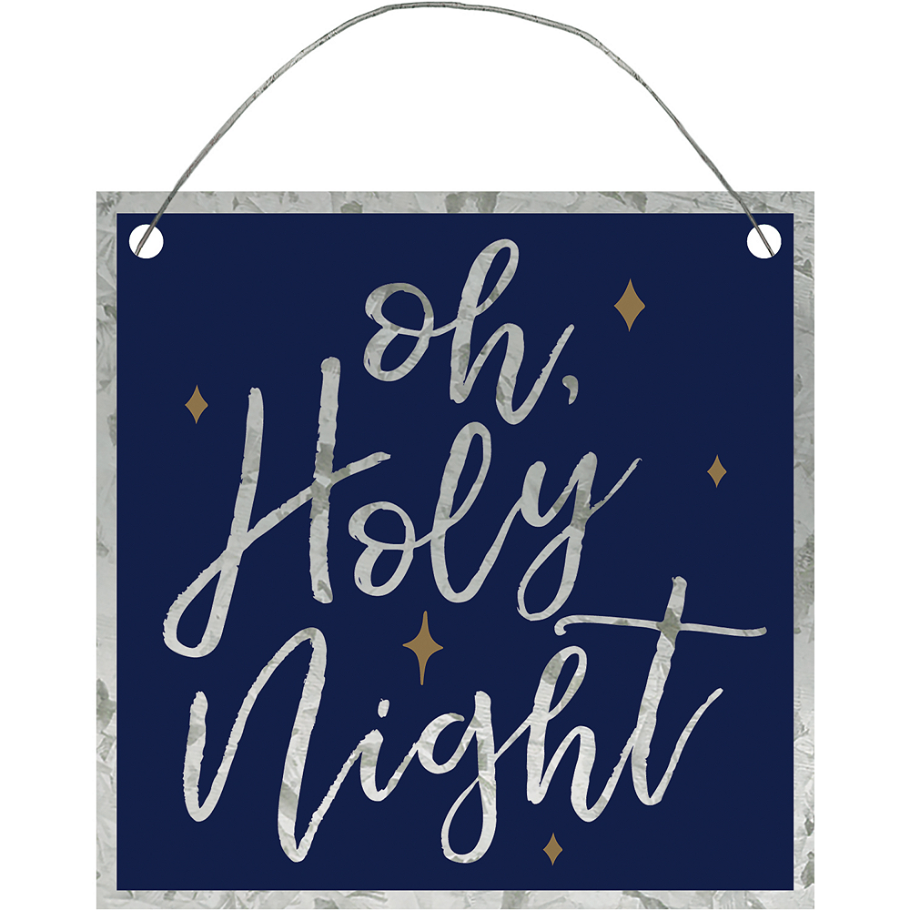 Mini Oh Holy Night Sign Image #1