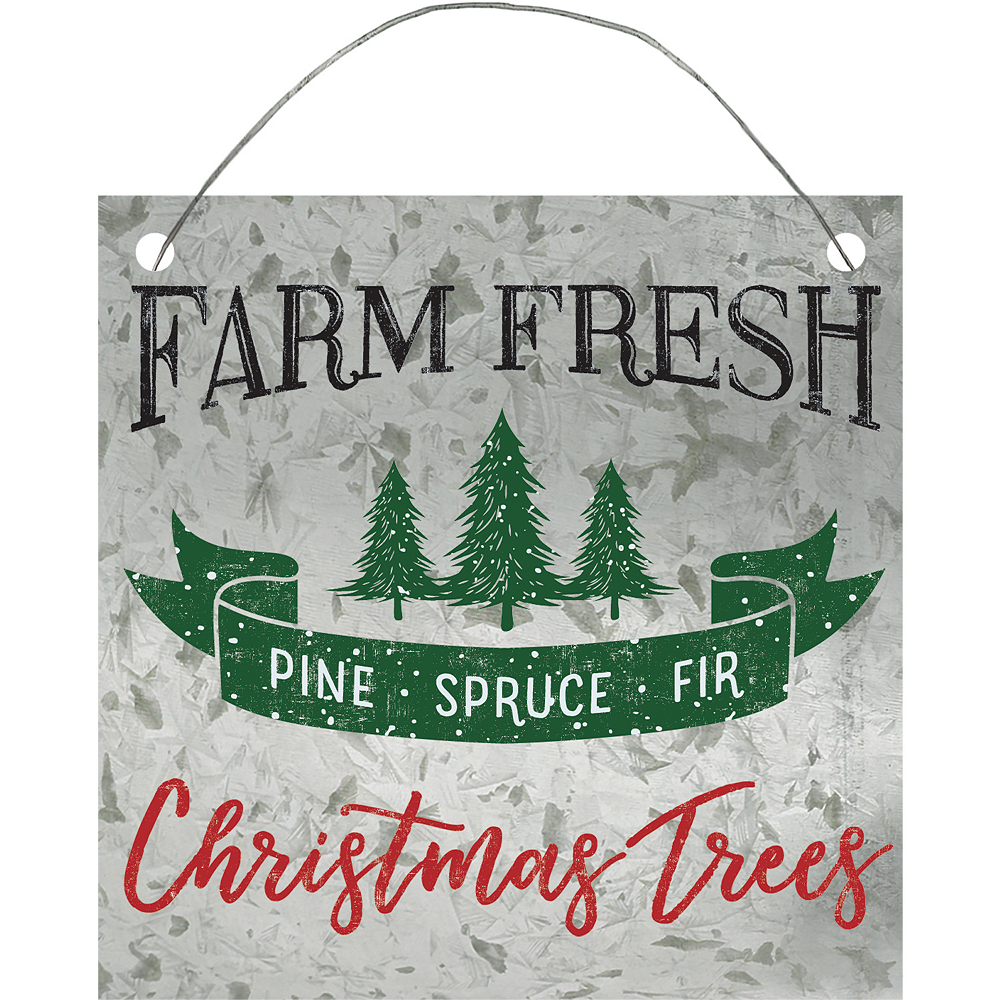 Mini Tree Farm Sign Image #1