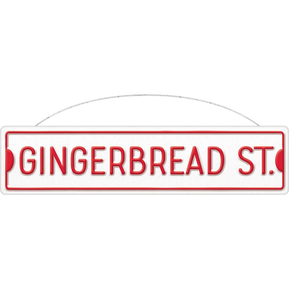 Gingerbread St. Metal Sign Image #1