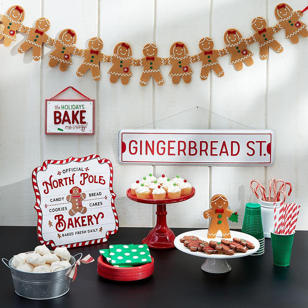 Gingerbread St. Metal Sign Image #2