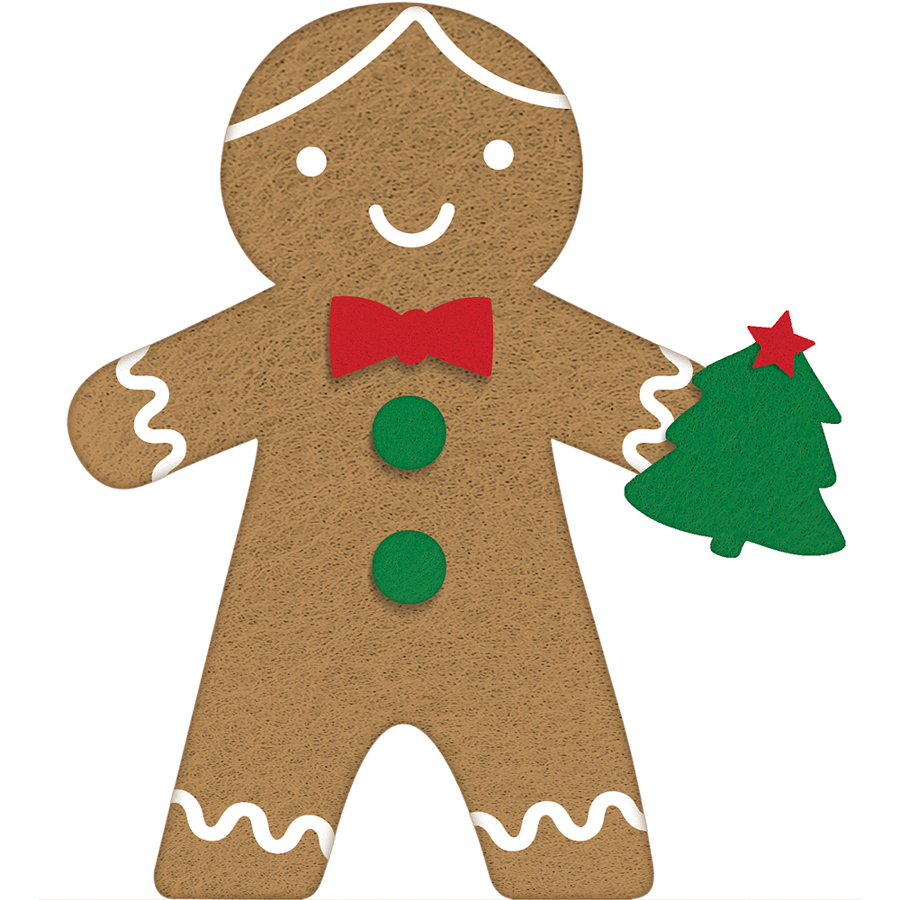 Mini Standing Gingerbread Man Image #1