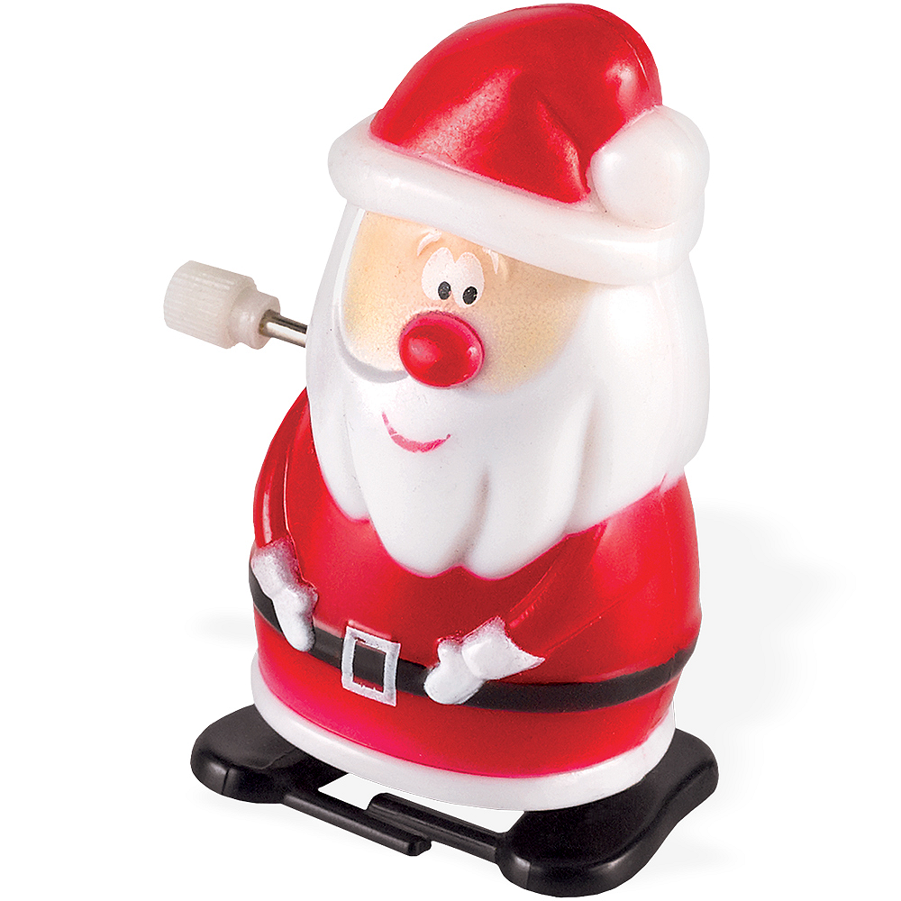 Santa Claus Wind-Up Toy Image #1